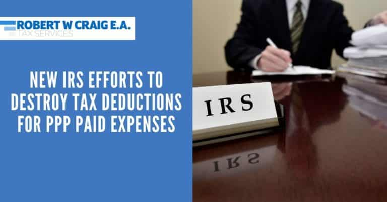 IRS Destroy Tax Deductions